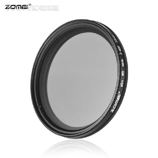 Zomei 52mm ultra slim fader variable nd2-400 filtre nd à