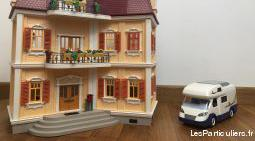 Playmobil maison et camping car