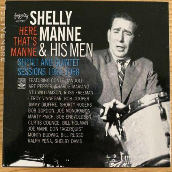 Coffret 3 cd jazzcity - shelly manne & his men - septet and