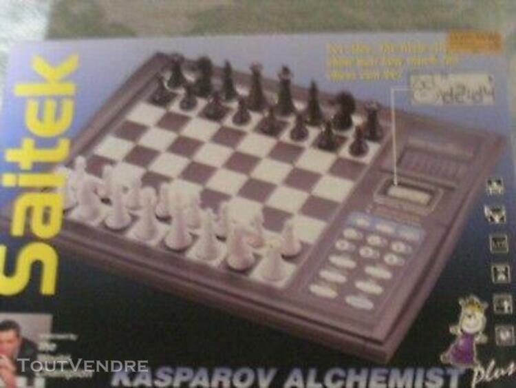 """Jeux echec electronique pro kasparov """"affrontez une"""