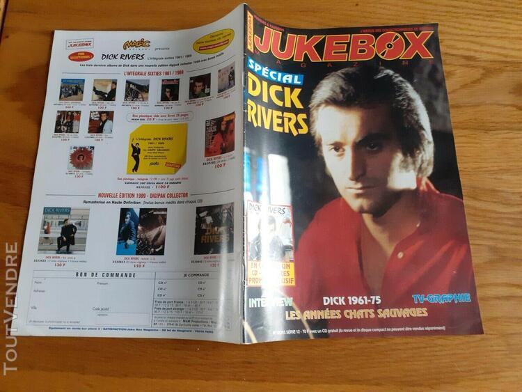 Juke box spécial dick rivers avec cd album 20 titres - hors