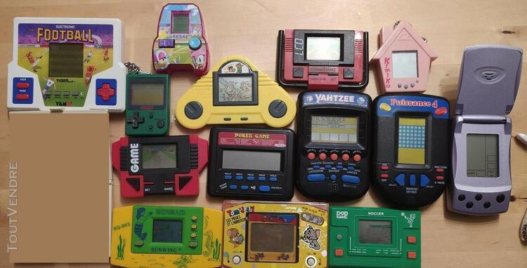 Lot 14 jeux - game watch - lcd electronics - nintendo - sega