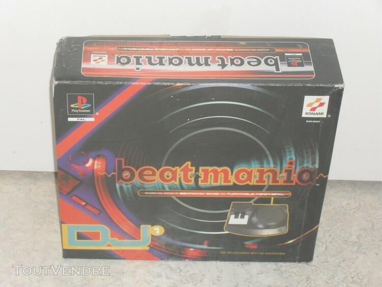 Pack beat mania pour ps1 playstation 1 / sans cd / manque le