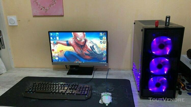 Pc gamer rtx2060+ écran clavier souris