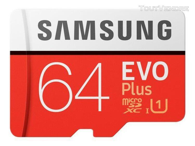 Samsung evo plus mb-mc64ha - carte mémoire flash