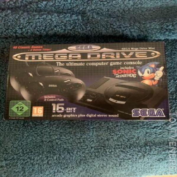 Sega mega drive mini - classic console 40+ games