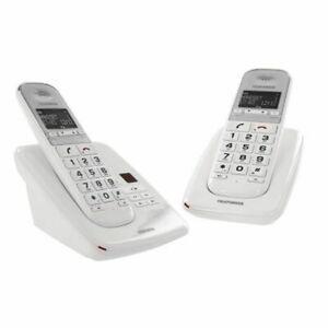 Telefunken duo téléphone senior