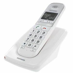 Telefunken telephone dect solo senior grosses touches td 301