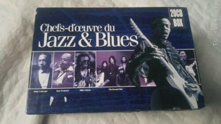 20 chef d'oeuvre du jazz & blues- louis