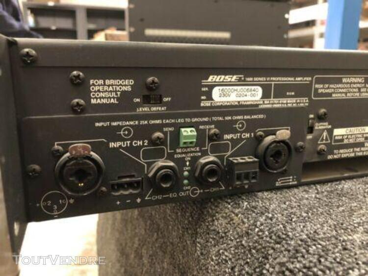 Bose 1600 series vi amplificateur pro