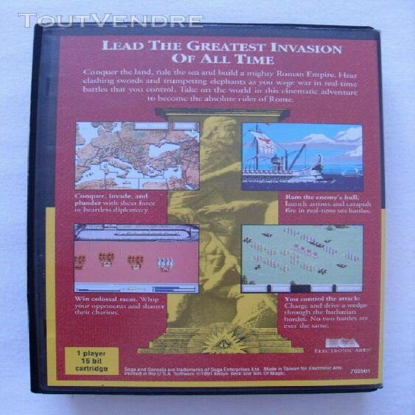 Centurion: defender of rome jeu sega genesis(us) pour megadr