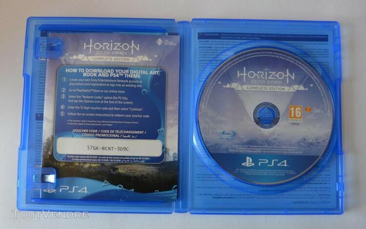 Horizon zero dawn complete edition sur ps4 en parfait état