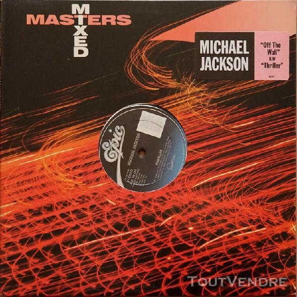 Michael jackson, the jacksons - lot de 5 vinyles 33 tours mi