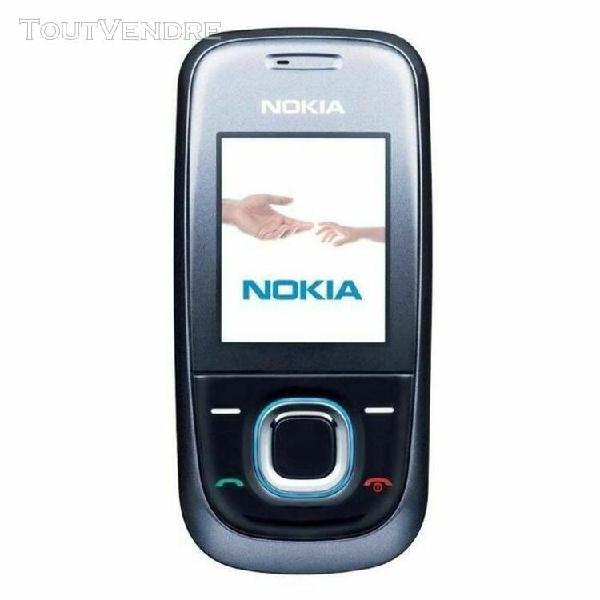 Nokia 2680 slide noir gsm + chargeur bloqué opérateur