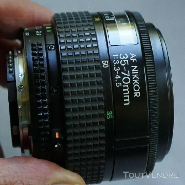 Objectif nikon af nikkor 35-70mm f/3.3-4.5