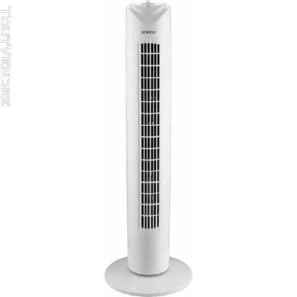 Oceanic ventilateur colonne 81 cm - 45 watts - 3 vitesses -