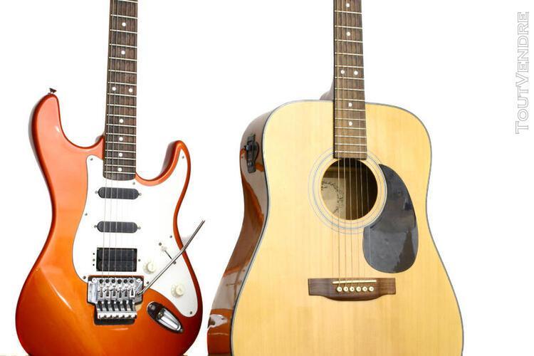 Professeur donne cours de guitare tous niveaux !