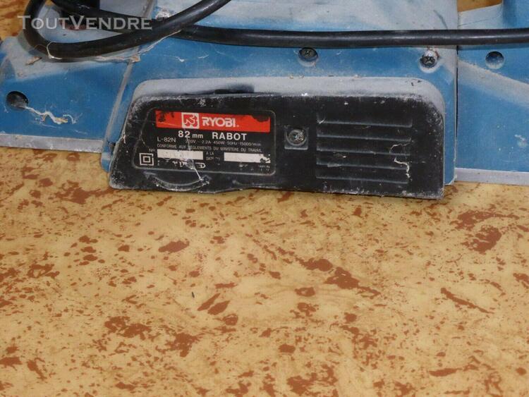 Rabot électrique ryobi 82 mm 450 w