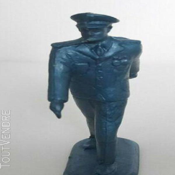Soldat luxe starlux plastique souple bleu officier et marin