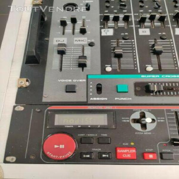Table de mixage activ-25 bst double cd etp laser twin