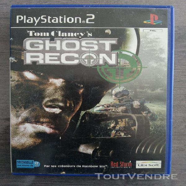 Tom claney's ghost recon - sony playstation ps2 - pal fr - s