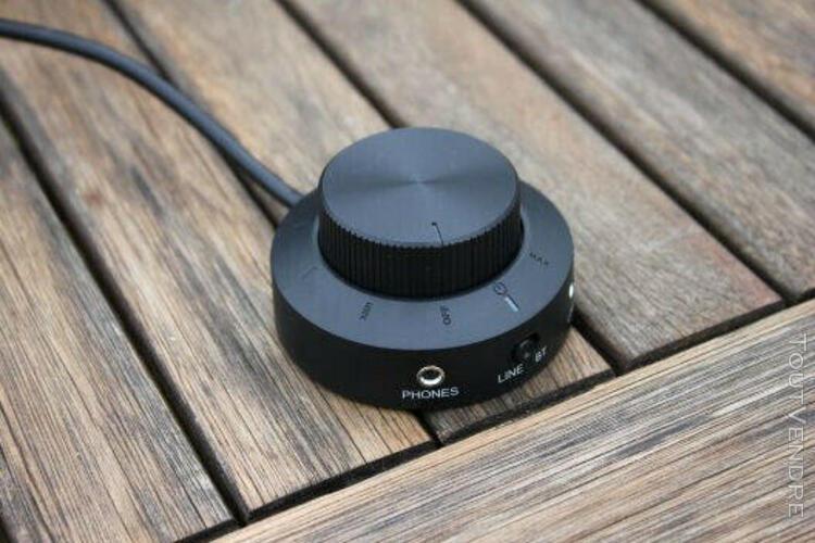 Wavemaster stax bt- kit d'enceintes stereo 2.1 bluetooth