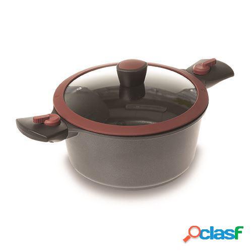 Nava casserole avec manches amovibles 20cm