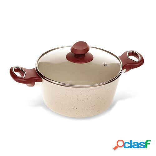 Nava casserole - aluminium avec couches céramiques 20cm