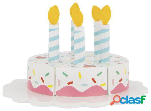 Hema gâteau en bois ø 8 cm - 14 pièces