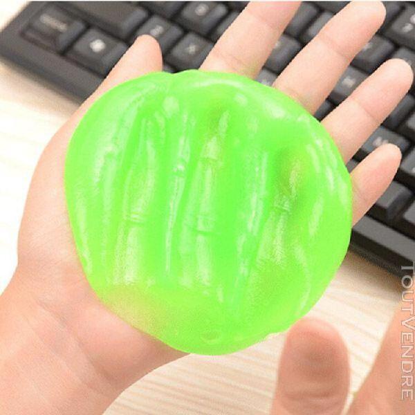 Ages 2 pièces super propre nettoyant magique gel clavier