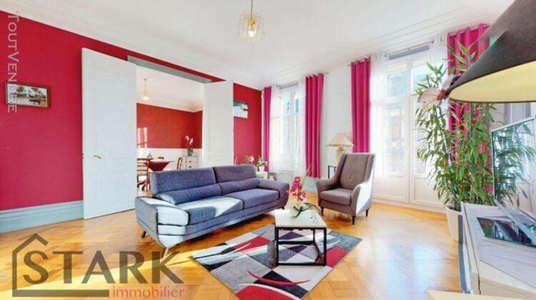 Appartement haussmannien coup de coeur t5 - 167m2 avec balco
