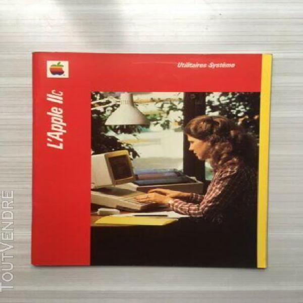 Apple 2c manuel utilisation utilitaires system 1982