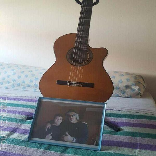 Guitare alhambra 3c ct e1 pan coupé (ex guitare de rey bali