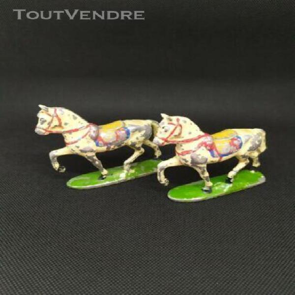Lot de 2 chevals quiralu