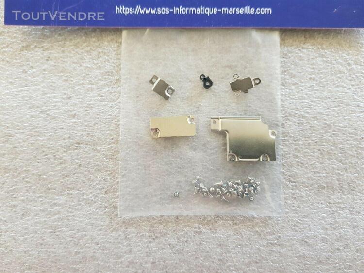 Plaques protection connecteurs batterie lcd caméra lampe +