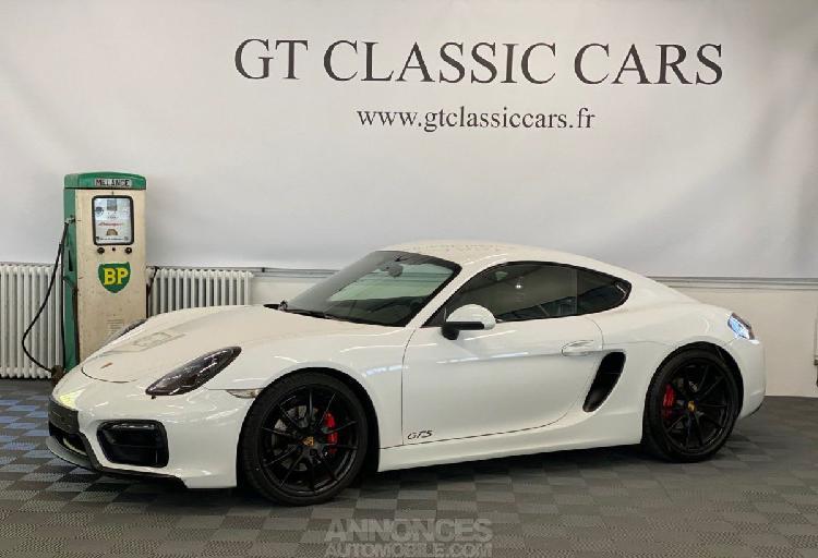 Porsche cayman 981 gts blanc
