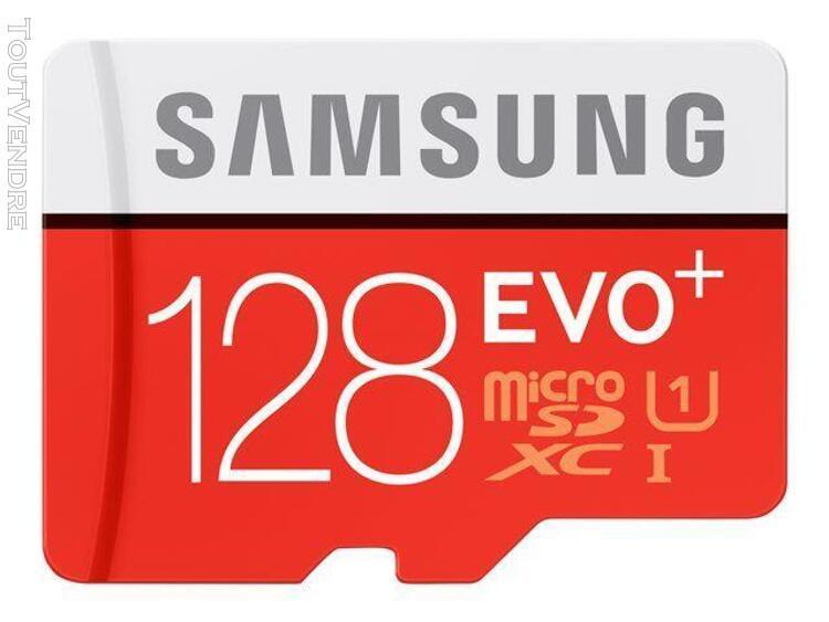 Samsung evo+ mb-mc128da - carte mémoire flash (adaptateur