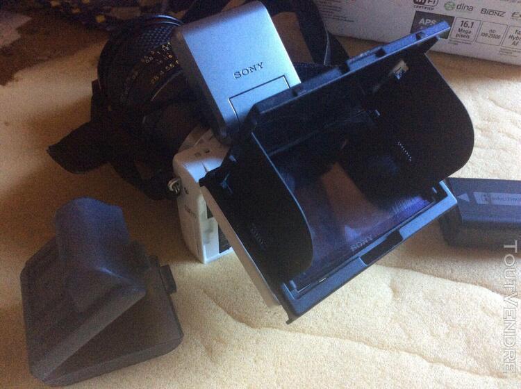 Sony nex 5t blanc + 2 yashica dsb 28/ 2,8 mm + ml 50 mm f1,9