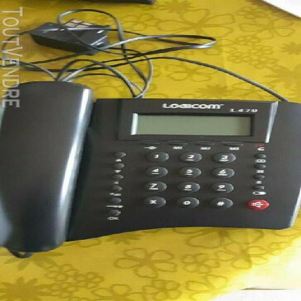 Telephone filaire: logicom modèle l470