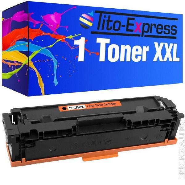 Toners toner platinumseries noir pour hp cf540a couleur lase