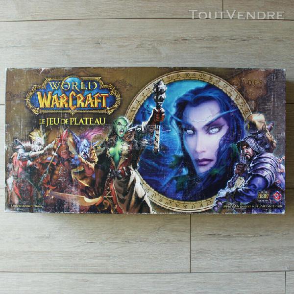 World of warcraft plateau 99% complet - boite mauvais état