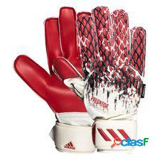Adidas gants de gardien gants predator 20 fingersave manuel neuer - blanc/noir/rouge enfant