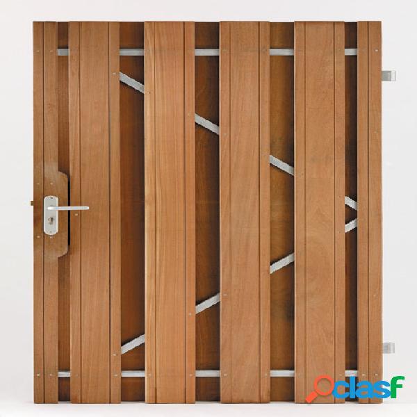 Porte jardin bois dur 100x180cm