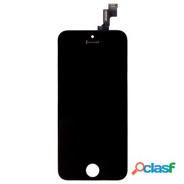 Ecran lcd pour iphone 5c - noir - qualité d'origine
