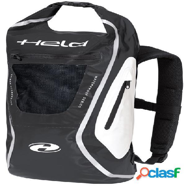 Held zaino, sacs à dos de moto, noir-blanc