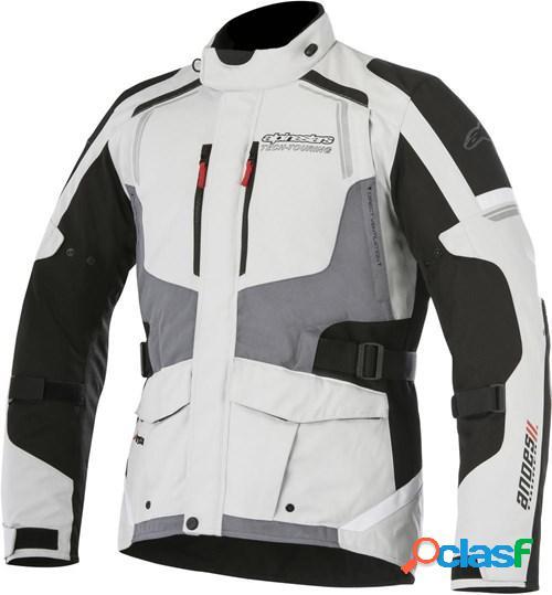 Alpinestars andes v2 drystar jacket, veste moto textile hommes, noir-jaune fluo