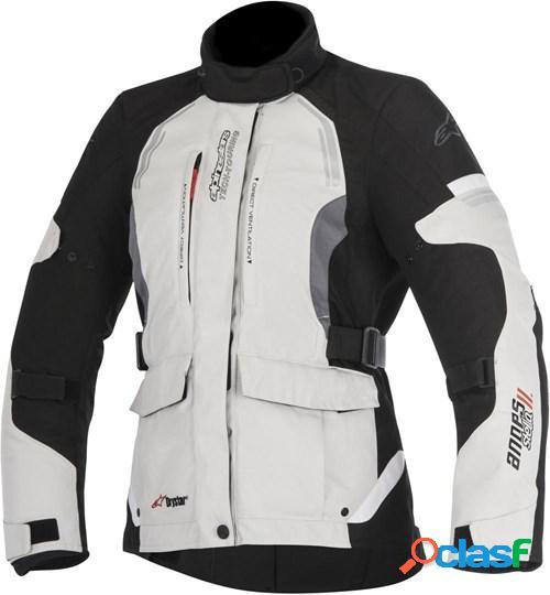 Alpinestars stella andes v2 drystar jacket, veste moto textile femmes, noir