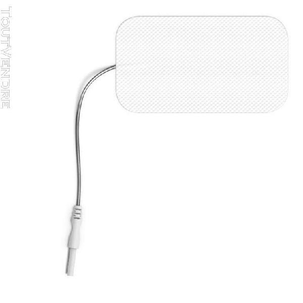 4 Électrodes rectangulaires À fil sport-elec