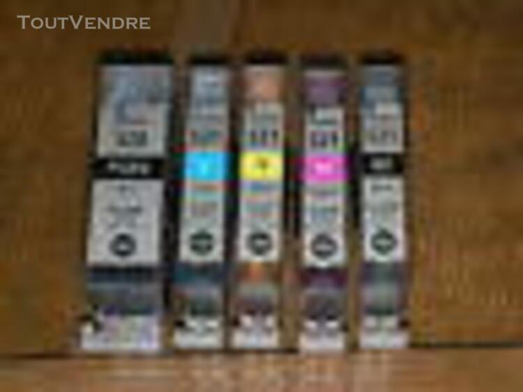 5 cartouches canon pgi 520 cli 521 cli521 pgi520 - france