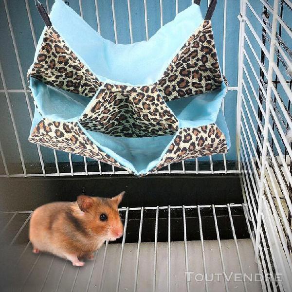 Animaux hamster squirrel hamac suspendu hiver chaud nid pour